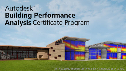Building Performance Analysis Certificate Program imag